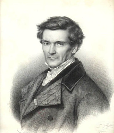 A portrait of Gustave-Gaspard Coriolis.