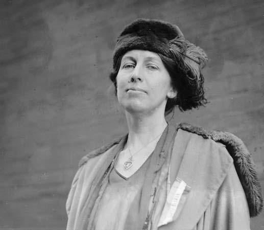 A photograph of civil engineer Nora Stanton Blatch Barney.