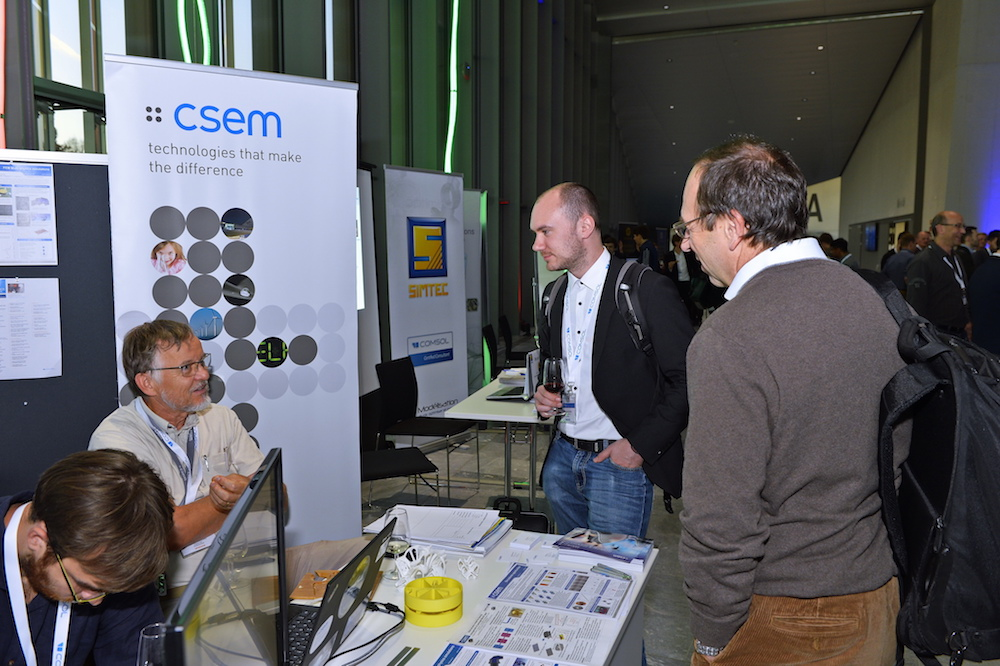 CSEM was a Gold sponsor of the event.