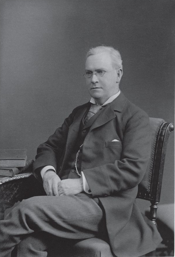An image of mathematician Sir Horace Lamb.