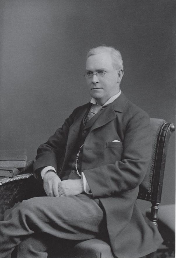 An image of mathematician Sir Horace Lamb.