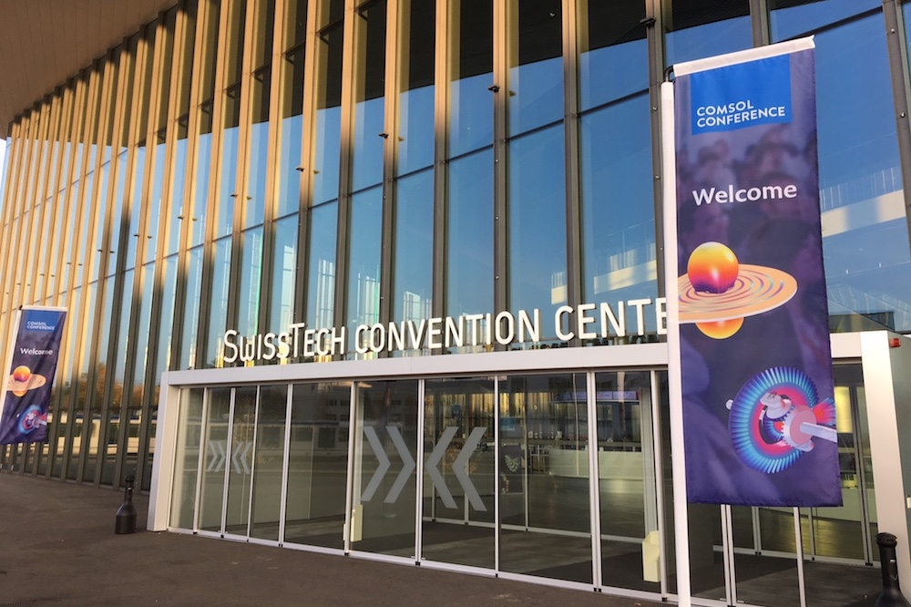 The conference was held at the SwissTech Convention Center in Lausanne.