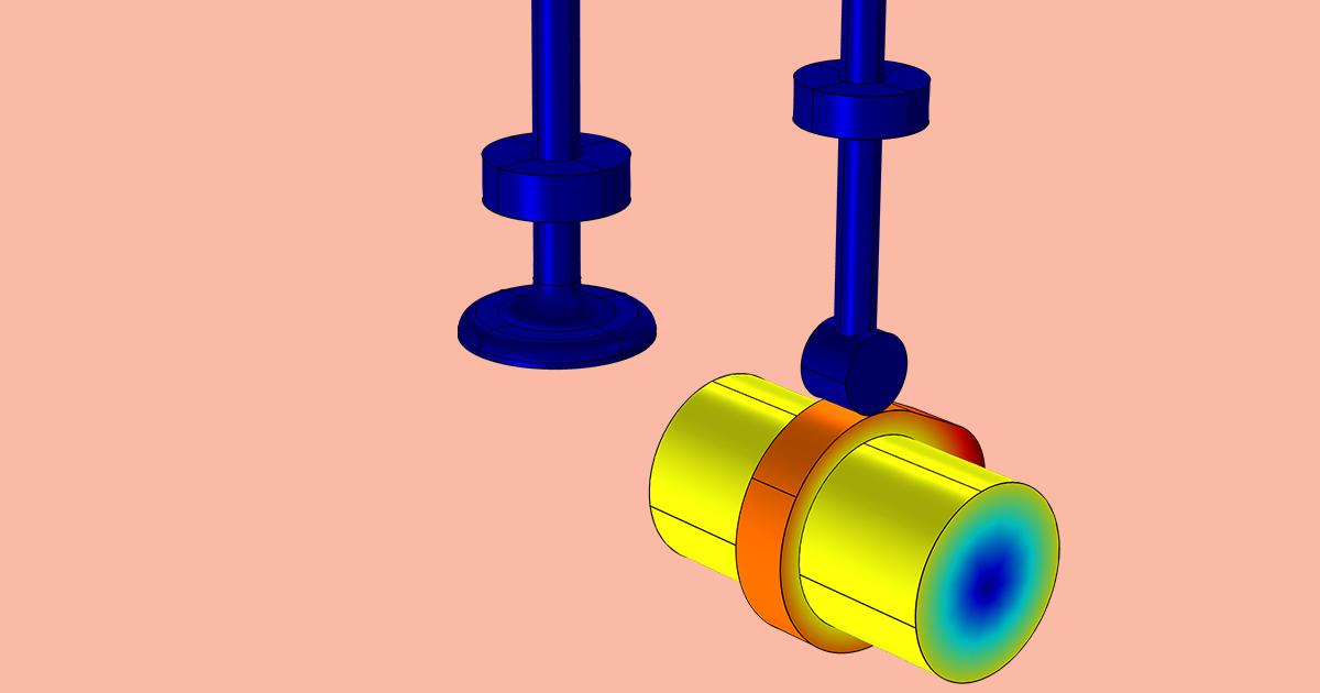 How To Model A Cam Follower Mechanism Comsol Blog