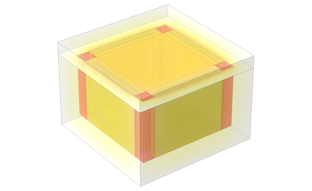 A model of an isothermal box.