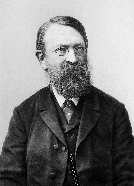A portrait of physicist Ernst Mach.