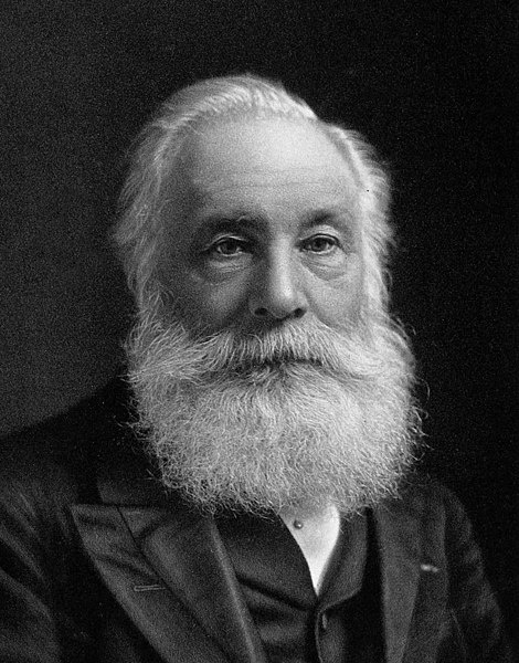 A photograph of the British chemist Sir William Henry Perkin.