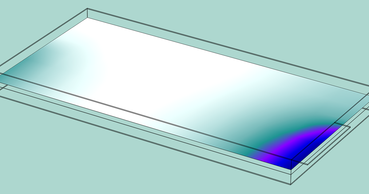 Evaluating The Electrode Utilization Of A Lithium Ion Battery Pouch Cell Comsol Blog