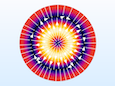 Simulation results for a circular port model.