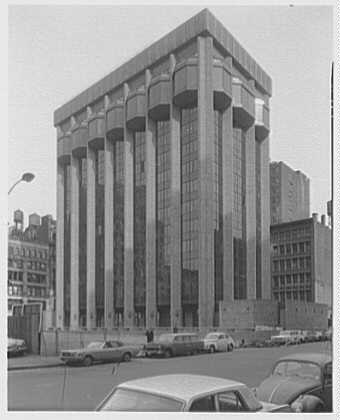 A grayscale photograph of the Courant Institute of Math at NYU, where Joseph Keller taught.