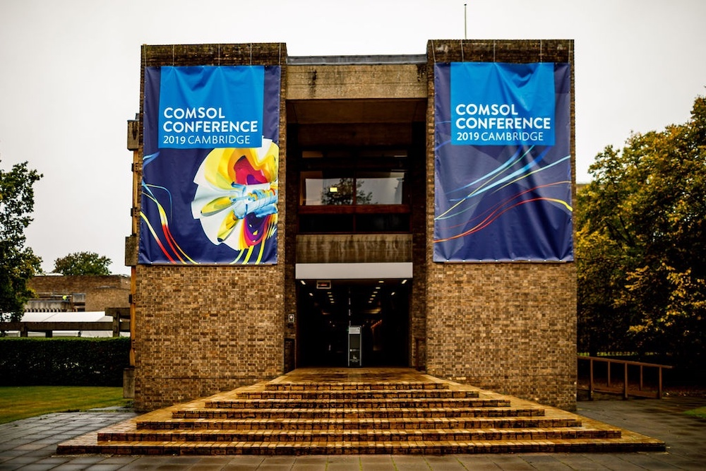 Churchill College served as the venue for the COMSOL Conference 2019 Cambridge.