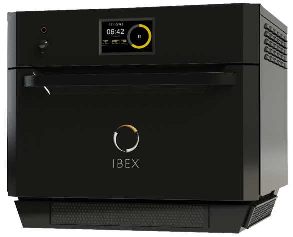 A photo of the IBEX solid-state oven developed by ITW.