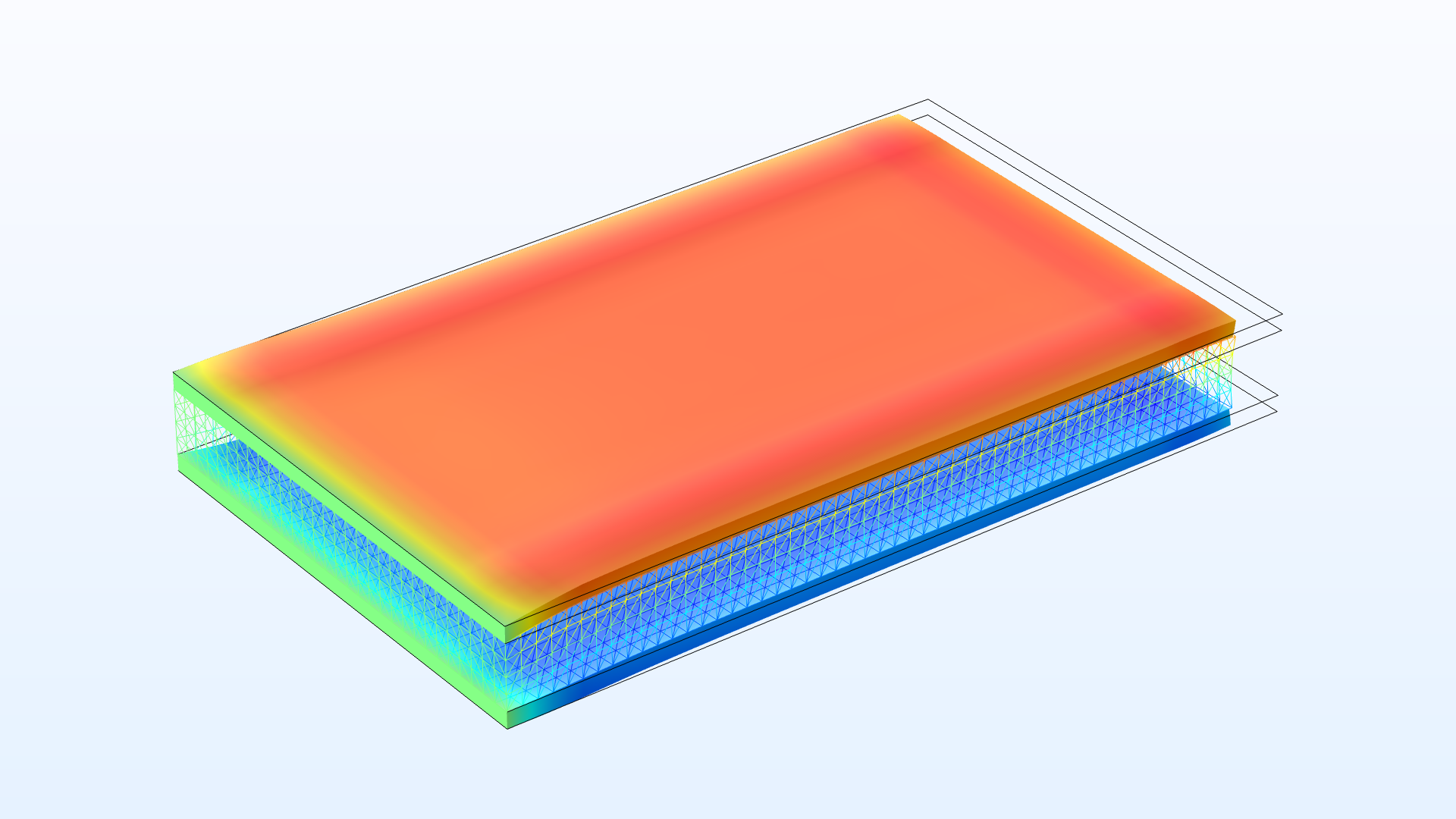 Model piezoelectric materials with the Layered Shell interface.