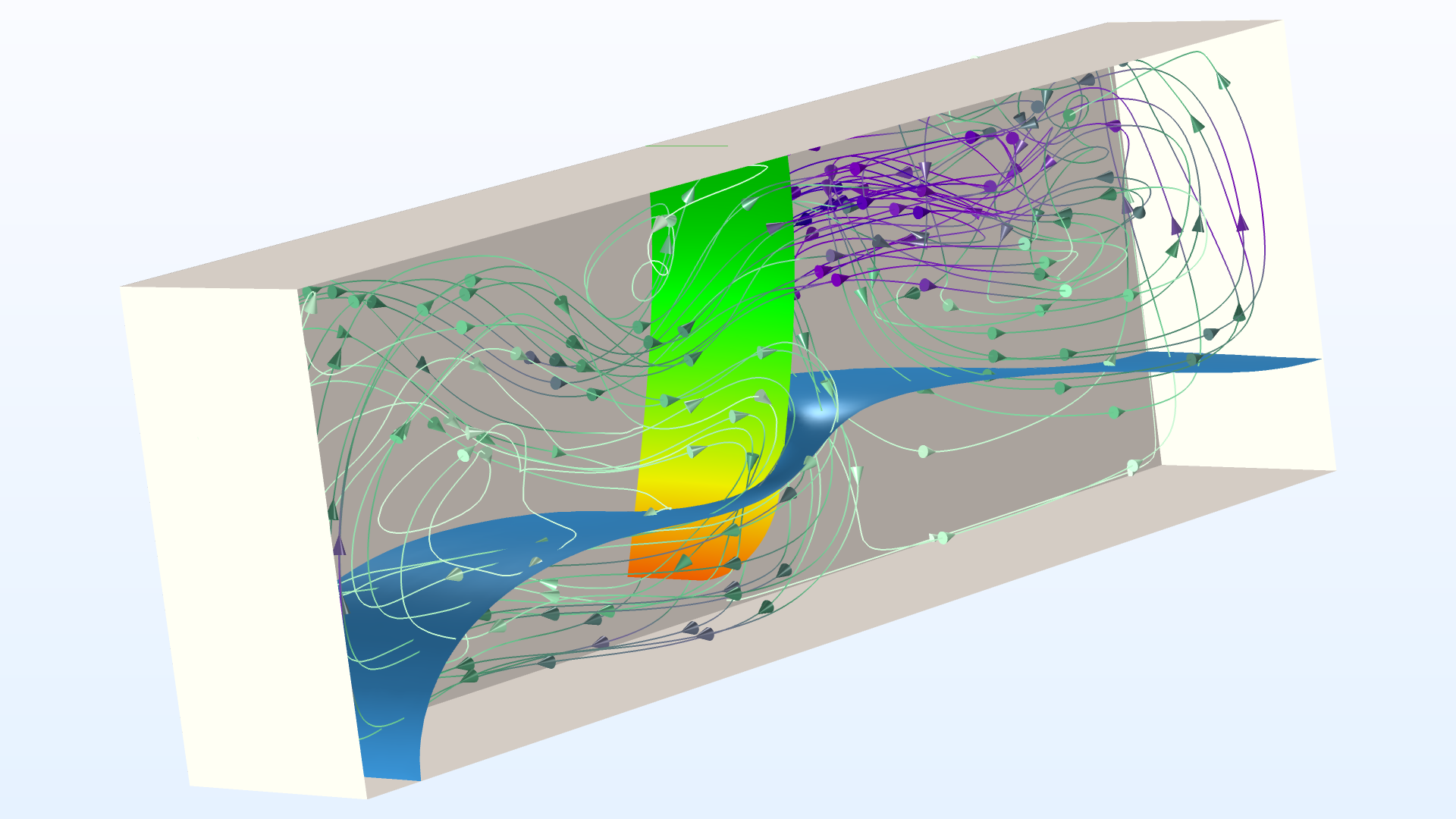 You can more easily model fluid-structure interaction (FSI) of two-phase flows with new multiphysics interfaces.