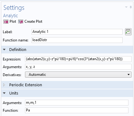A screenshot of the Settings window that shows the Analytic settings.