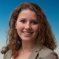 Headshot of Marie Hermanns of Volkswagen.