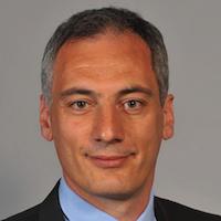 Headshot of Pierre Hatte of Graftech.