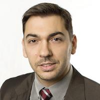Headshot of Sebastien Perrier of Echologics.