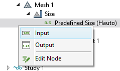 Adding a Combo Box object for Predefined Size to the app via the Editor Tools window.