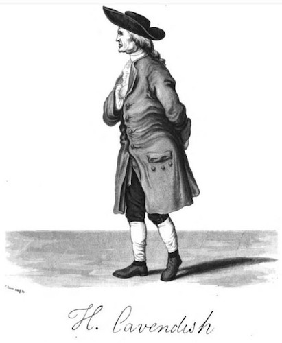 The only known portrait of scientist Henry Cavendish.