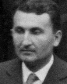 A black-and-white photograph of physicist and metallurgist Egon Orowan.